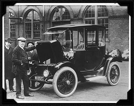Edison Electric Car 1913