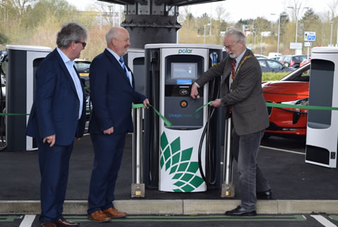 European Network of Chargers Expanding