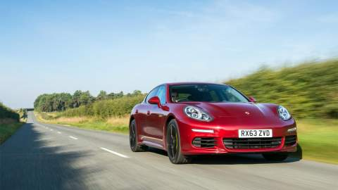 The 2013 Panamera won OLEV approval