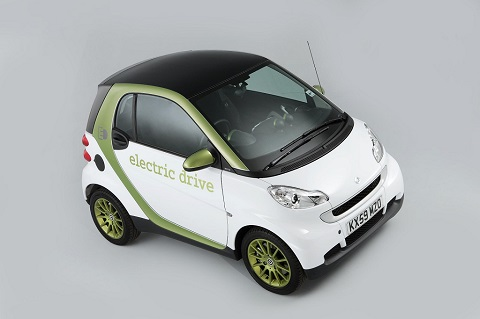 Smart ForTwo exterior front driver-side view