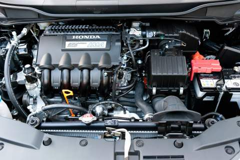 Logical under-bonnet layout