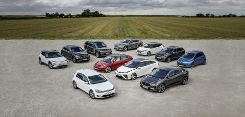 Selection of EV's