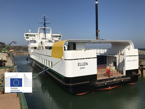 Electric Ellen ferry
