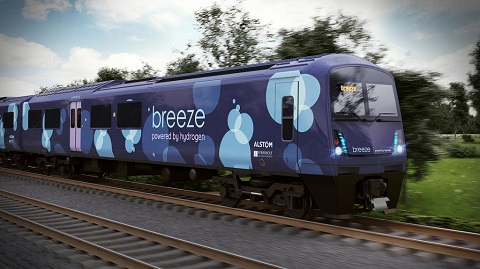 Breeze train - powered by hydrogen