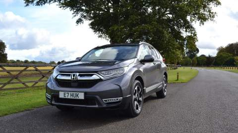 Honda CR-V front view