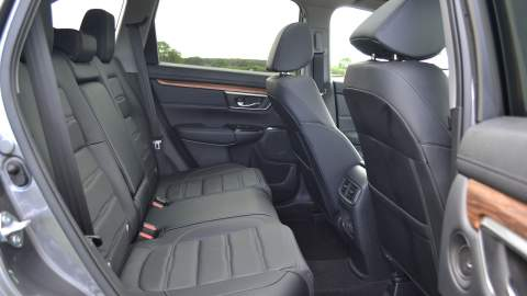 Honda CR-V rear interior view