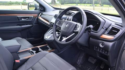 Honda CR-V front interior view