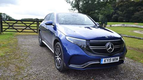 Mercedes-Benz EQC front view