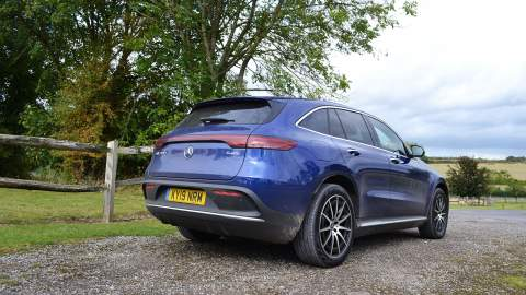 Mercedes-Benz EQC rear view