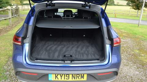 Mercedes-Benz EQC's boot