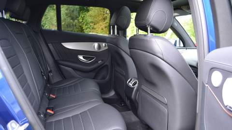 Mercedes-Benz EQC rear seats