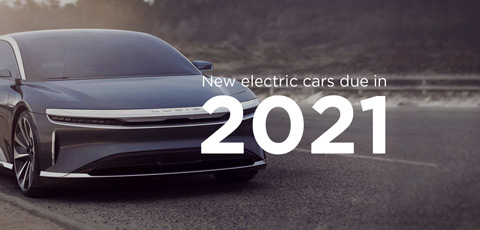 New electric cars due in 2021
