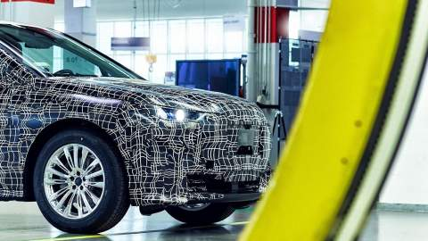 BMW iNEXT taking shape through all-new production methods at its Pilot Plant