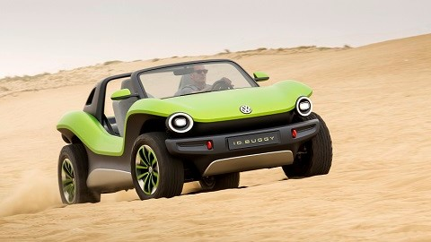 VW ID.Buggy brings retro cool to Pebble Beach