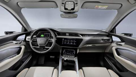 Entry-level 50 quattro joins the Audi e-tron range