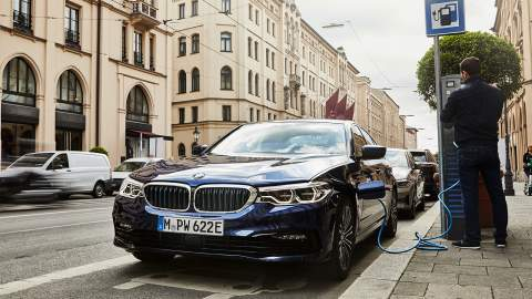 BMW 530e PHEV gets more range and xDrive option, plus details of BMW's electrification programme emerge