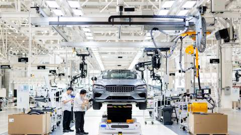 Polestar EVs to be built at new manufacturing centre in China