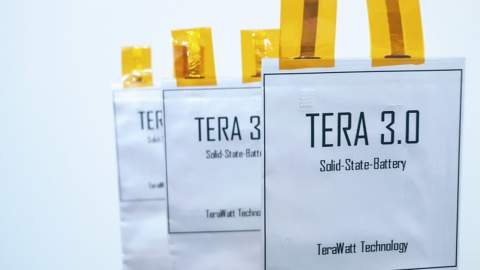 TerraWatt Technologies achieves record-breaking energy density with solid-state battery
