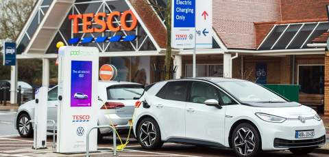 EV will go twice the distance of a petrol or diesel car on £5