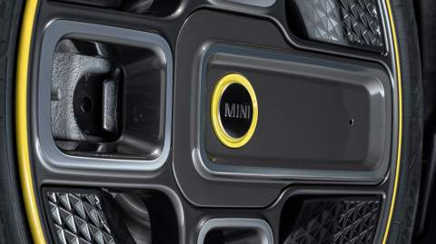 New MINI Electric breaks cover – finally