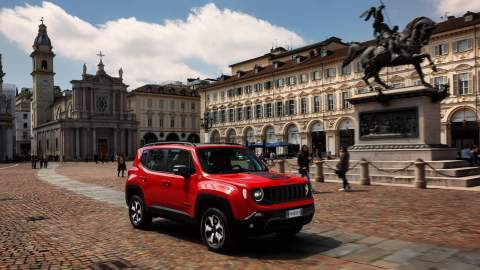 New PHEV Jeep Compass and Renegade make on-road debut