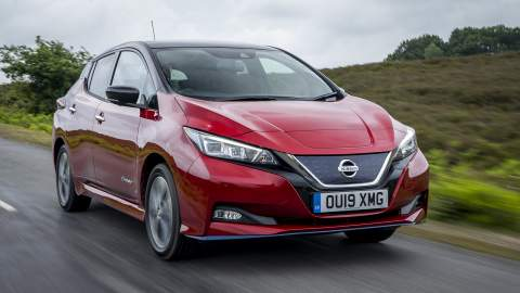 Nissan LEAF e+ revealed: More range and power