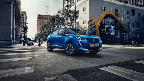 New 2020 Peugeot electric e-2008 SUV revealed