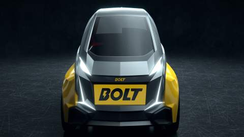 Usain Bolt launches a two-seater electric vehicle