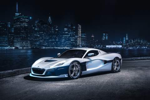 Hyundai and Kia team up with Rimac to build high-performance electric sports cars