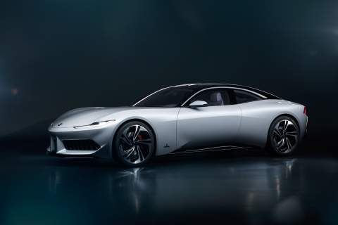 Karma introduces hybrid and electric vehicles at Shanghai