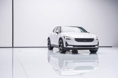 Polestar announces production of its new electric fastback and a new R&D centre in the UK