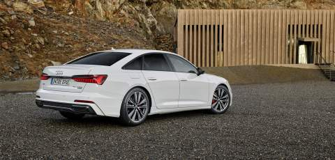 Audi increases its PHEV range with A6 55 TFSI e