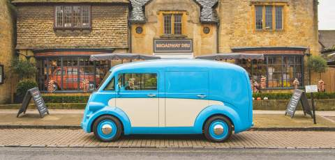 Morris Commercial resurrected as an electric van
