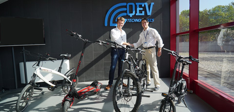 Electric bike and EV component makers team up on e-mobility