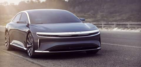 Lucid Air has official range of 517 miles