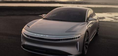 Lucid Air 1000bhp luxury EV nearing production readiness