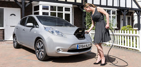 EV owners can run their cars for free – by renting their driveways