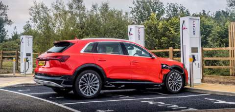 Audi simplifies charging for e-tron owners