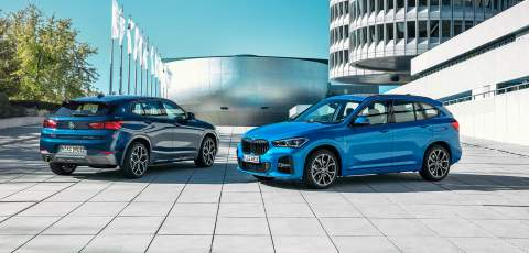 BMW X1 and X2 get PHEV treatment