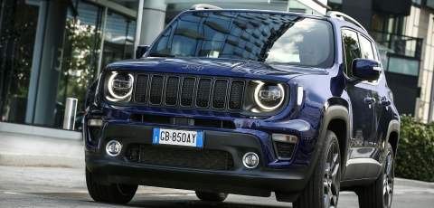 Jeep Renegade 4xe PHEV breaks cover