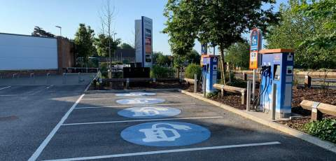 Engenie bringing rapid chargers to key UK retail outlets