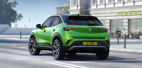 Vauxhall lifts the lid on the new Mokka-e