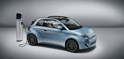 New Fiat 500 is first four seater EV convertable on sale