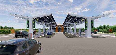Hitachi Capital invests big in Electric Forecourt provider, Gridserve