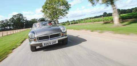 RBW Electric Classic Cars creates a £90k electric MGB Roadster