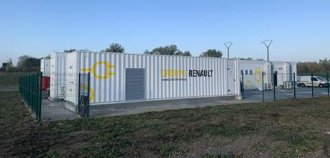 Renault reveals two new second-life battery programmes