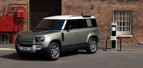 Land Rover Defender PHEV now available