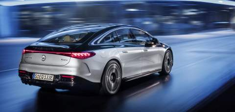Mercedes EQS: S-Class goes electric