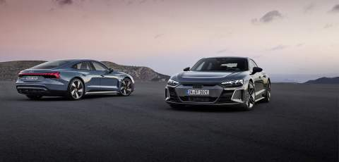 Audi e-tron GT and RS e-tron GT officially unveiled