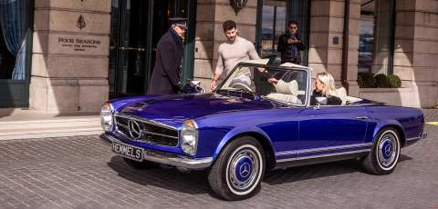 Mercedes-Benz Pagoda EV conversion launched